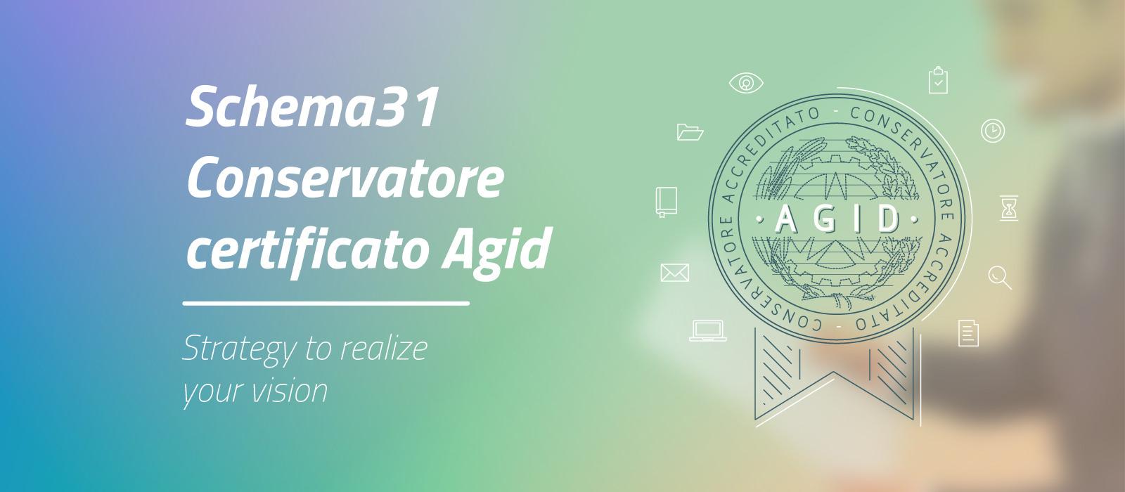 schema31 conservatore certificato Agid