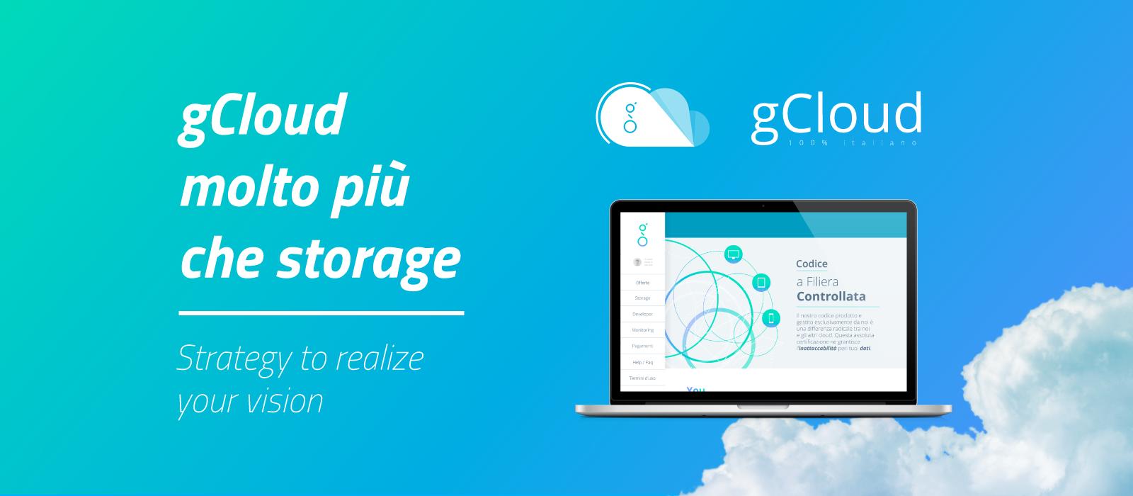 gCloud molto più che storage by schema31