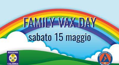 FAMILY VAX DAY- Potenziati alcuni centri vaccinali – Prenotazioni over 40 al via tra il 19 e il 20 maggio