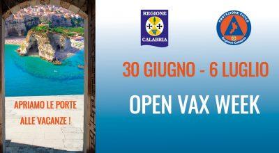 OPEN VAX WEEK  – Apriamo le porte alle vacanze!