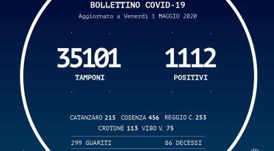 BOLLETTINO DELLA REGIONE CALABRIA DELL'1/05/2020
