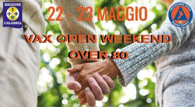 OPEN VAX WEEKEND OVER 80 – 22/23 MAGGIO