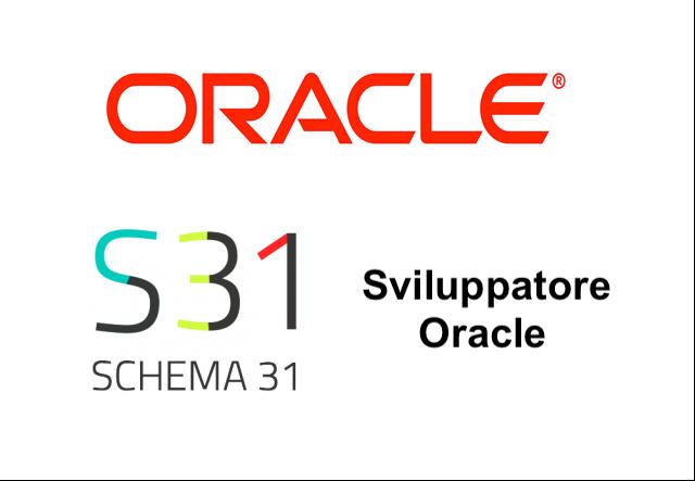 Sviluppatore Oracle Schema31